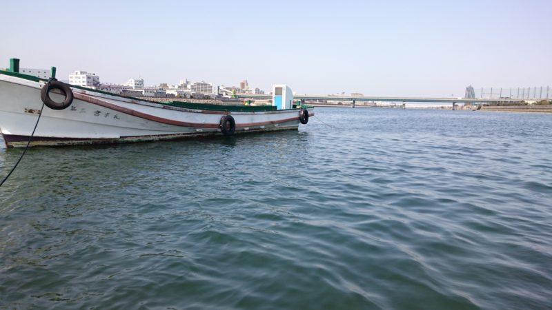 武庫川渡船さんのカセ船