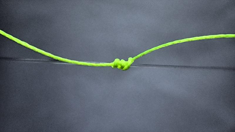 硬そうなウキ止め糸