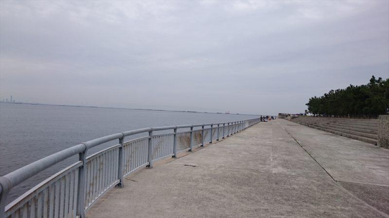 南芦屋浜ベランダ東側