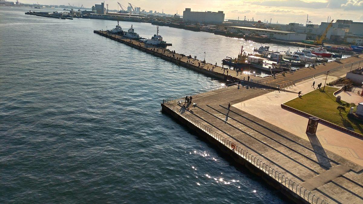 ポートアイランド北公園 お気楽オヤジの釣り日誌2 阪神支局