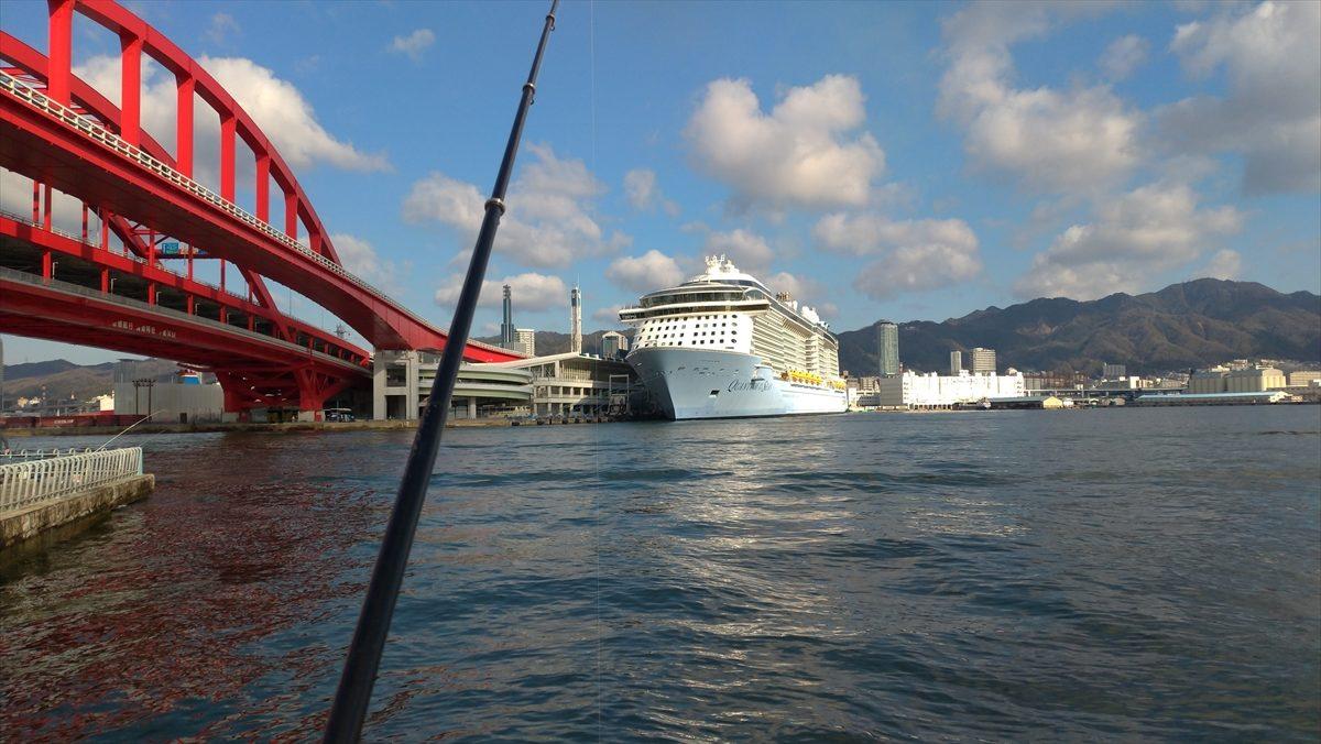 潮通しはよさそう     お気楽オヤジの釣り日誌2 阪神支局